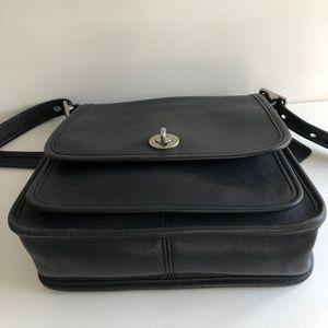 Coach Bags - Coach Black Legacy Rambler No. 9061